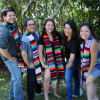 Graduating seniors with Dr. Judith Estrada