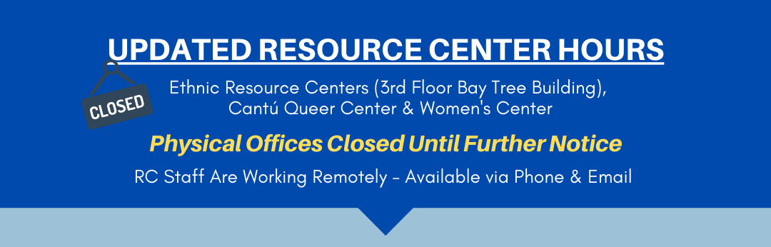 Resource Centers will be closed indefinitely